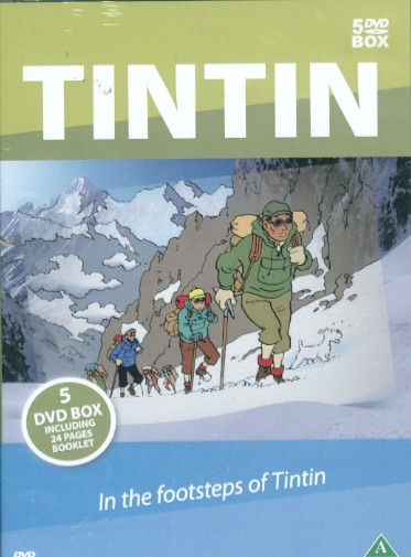 TINTINS FODSPOR DVD